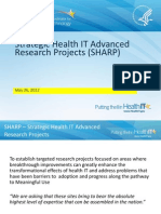 Strategic Health IT Advanced Research Projects (SHARP)