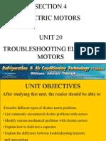 Electric Motor Trblsht