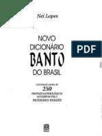 Dicionário Banto
