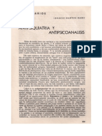 (1973b) Antipsiquiatría y psicoanálisis