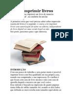 Como Imprimir Livros