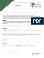 Dravet Syndrome Factsheet