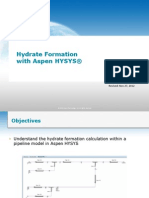 PET-002H Hydrate Formation