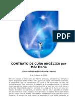 CONTRATO DE CURA ANGÉLICA por Mãe Maria