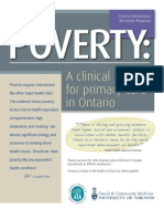 Poverty a Clinical Tool 2013 (With References)
