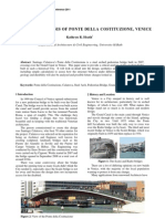Ponte Della Constituzione Bridge_Paper