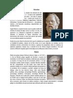 Biografías de los Filósofos
