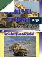 Curso de Familiarizacion de Excavadora PC5500 de Komatsu