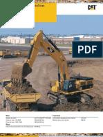 Catalogo de Excavadoras Hidraulicas 390DL Caterpillar