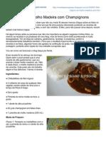 Receitapassoapasso.blogspot.com.Br-Filet Mignon Ao Molho Madeira Com Champignons