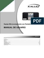 Microcomponente Kalley MC-KH500P - Español