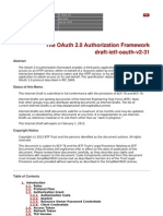 OAuth v2 Draft Specification