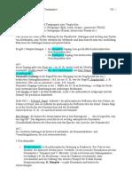 Zusammenfassung-Textanalyse