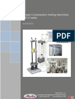 Compression Creep Testing System F-ECH MICROTEST ENG Oct 2012 b