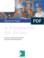 Right For People -  a Framework for Action