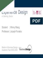 Experience Design Winny 23018