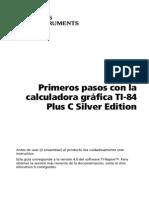 TI84 Plus C GettingStarted ES