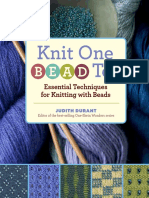 Knit One, Bead Too (sample pages)