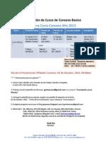 Información curso octubre
