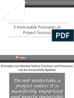 5 Immutable Principles of Project Success (V2)