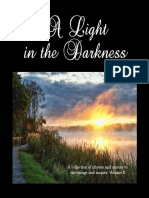 "Inspirational Photo Gift Book - ""A Light in the Darkness"" by Jean Gibbons"