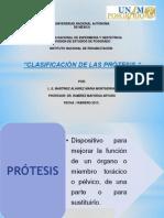 10.CLASIFICACIÓN PRÓTESIS