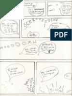 Pictureless Comic Draft Scans