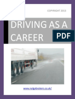 HGV Driver Training - For Road Safety And Quality Goods Delivery