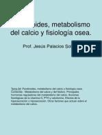 4. Paratiroides, metabolismo del calcio y fisiolog+¡a osea