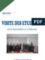 CR Visites Etudiants Foi&Engagement