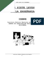 LAS SIETE LEYES DE LA ENSEÑANZA.doc
