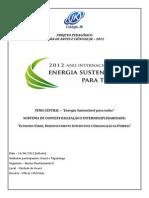 Projeto Feira Ciencias Fac 2012