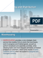 Warehousing and Purchasing