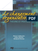 Changement Organisationnel Definition