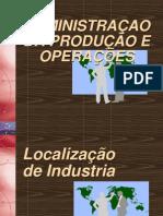 Localização de Fabricas