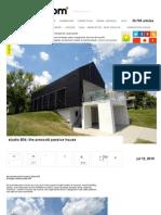 studio 804- the prescott passive house
