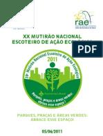 Programa XX MutEco Parques Pracas e Areas Verdes
