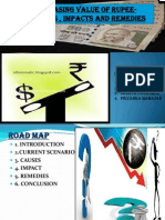 Rupee Depreciaiton Final Ppt