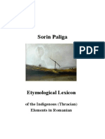 Sorin Paliga_Etymological Lexicon of the Thracian Elements in Romanian