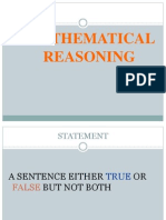 Chapter 4 - Mathematical Reasoning Form 4