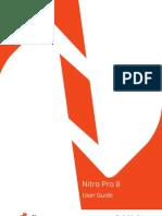 Nitro Pro 8 User Guide English