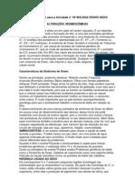 Texto de apoio para a Atividade nº 05 BIOLOGIA ENSINO MEDIO