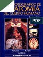 Atlas Fotográfico de Anatomía del Cuerpo Humano 3a Ed. - Yokochi, J. Rohen, E. Weinreb (Interamericana, 1991)