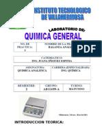 Practica No.1 de Quimica Analitica