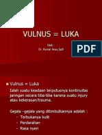 Vulnus = Luka