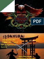 Kalles Power Point Praesentation - Die Samurai