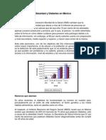 Obesidad y Diabetes en México