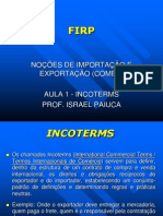 INCOTERMS 2010 - atualizado