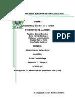 Administracion Por Calidad Total (TQM)