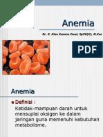 Anemia FKG